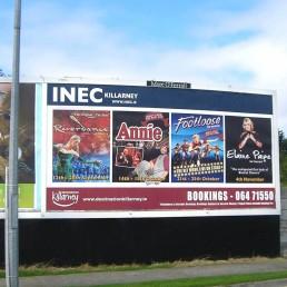 INEC Killarney - Billboard Graphics