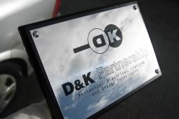 D&K Partnership - Nameplate