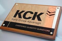 Kane Crowe Kavanagh - Nameplate
