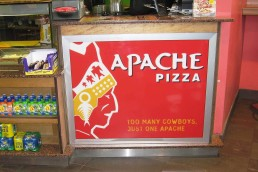 Apache Pizza - Counter Panel
