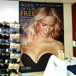 Shaws - Wall Graphics