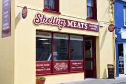 Skellig Meats Butchers - Shopfront Signage