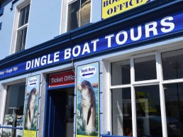 Dingle Boat Tours - Shopfront Signage
