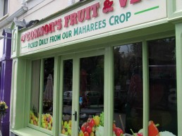 O'Connors Fruit & Veg - Shopfront Signage