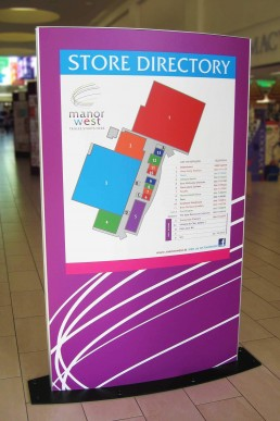 Manor West Retail Park - Store Directory