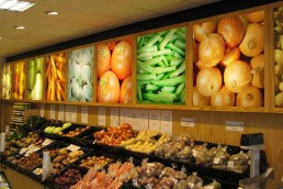 Horan's Fruit & Veg - Illuminated Display Panels